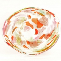 - Fidrio Plate Ø:45cm Mixed Colours