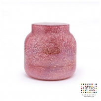 - Fidrio Vase Bloom Small H:20cm Ancient Pink