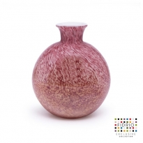 - Fidrio Bolvase With Neck Ø:23cm Ancient Pink