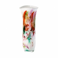 - Fidrio Vase Art H:57cm Ø:20cm Mixed Colours