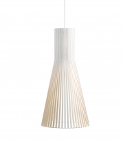 - Secto Design Secto 4200 Hanglamp Wit/Ophangkabel Wit
