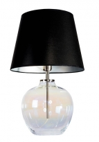 - Famlight Glass Design Timor Tafellamp Pearl