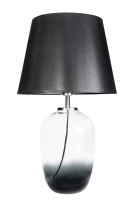 - Famlight Glass Design Maui S Tafellamp Trans/Zwart
