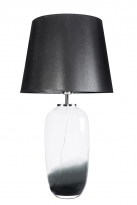 - Famlight Glass Design Maui L Tafellamp Trans/Zwart