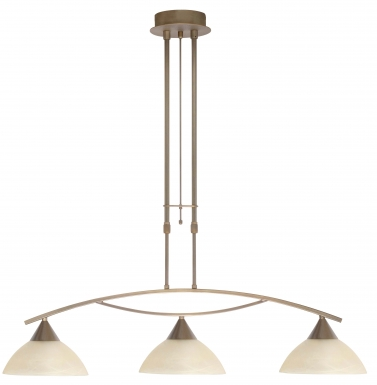 Highlight Palermo Hanglamp 3/L Brons