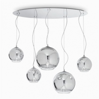 - Ideal lux Discovery Hanglamp Chroom