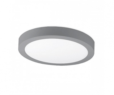 Kohl Lighting Disc Plafonier Grijs Ø30cm Led 24watt