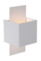 - Lucide Cubo Wandlicht Wit
