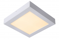 - Lucide Brice-led Vierkant Plafondlamp Wit