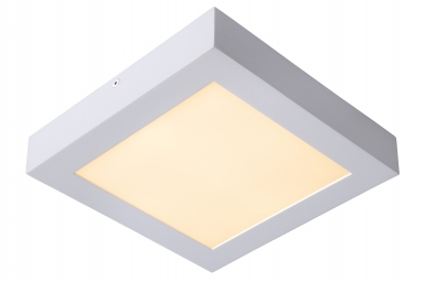 Lucide Brice-led Vierkant Plafondlamp Wit
