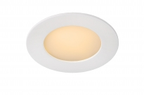 - Lucide Brice-led rond Inbouw Wit