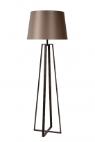 - Lucide Coffee Vloerlamp Roest