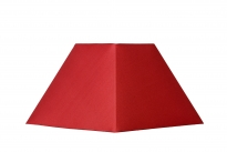 - Lucide Shade vierkant/schuin 20 rood