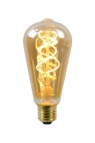 - Lucide Edison Amber 5w/2200k/400lm E27
