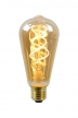 Lucide Edison Amber 5w/2200k/400lm E27