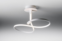 - Lupialight Loop Plafondlamp Wit