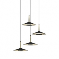 - Mantra Orion Hanglamp Messing/Zwart