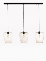 - Marckdael Contemporal| Seattle Hanglamp Zwart
