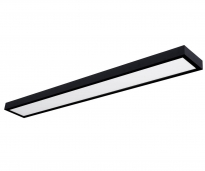 - Uni Bright Moon Plafond/Wand Lamp Zwart